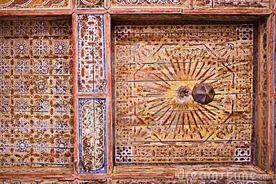 Moroccan ceiling