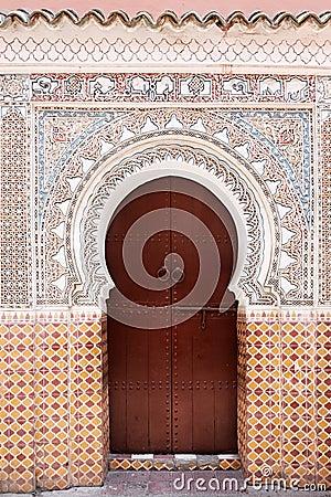 Free Moroccan Door. Stock Images - 16814304