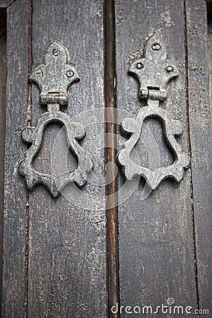 Moroccan door handles