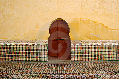 Moroccan Doorway