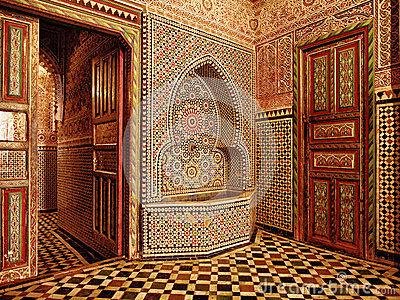 Moroccan doorway entrance