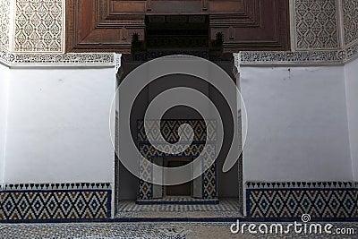 Moroccan indoor architecture