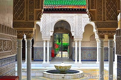 Moroccan and islamic pavilion architecture