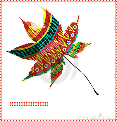 Moroccan maple leaf A