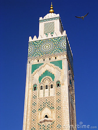 Free Moroccan Minaret Royalty Free Stock Photos - 2406448