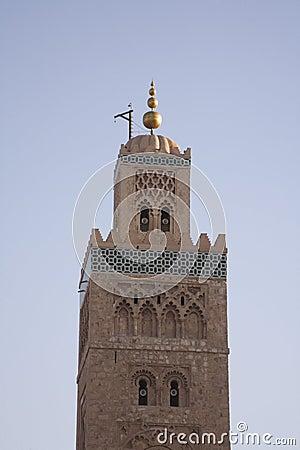 Moroccan Minaret Marrakesh