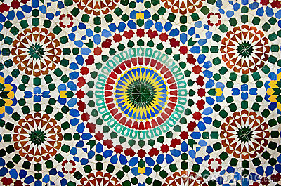 Moroccan mosaic royalty free stock photos image 16815638 - Mosaique marocaine photo ...