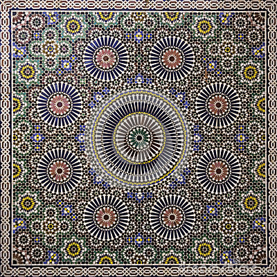 Free Moroccan Mosaic Stock Photo - 31317750
