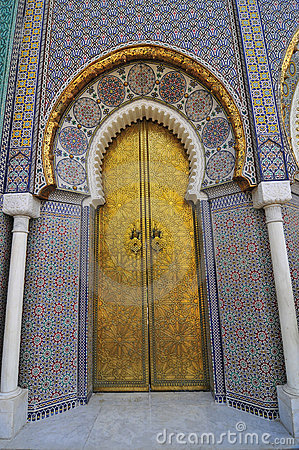 Moroccan Palace Door