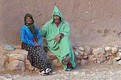 Moroccan People 1 Editorial Stock Photo