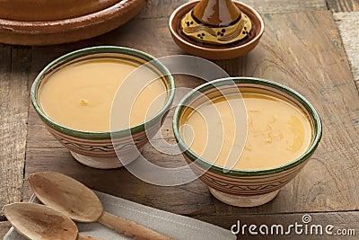 Moroccan Pumpkin Carrot soup