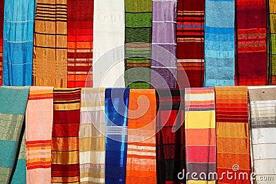 Moroccan shawls