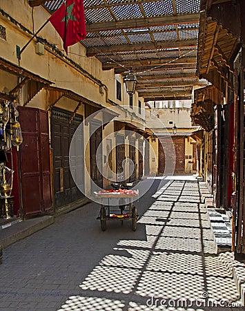 Moroccan Side Street