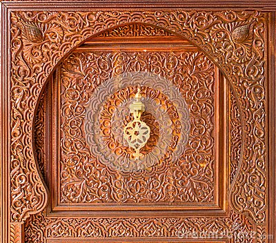 Moroccan style door knocker