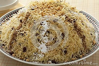Moroccan vermicelli seffa