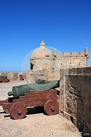 Morocco Essaouira fort battlement