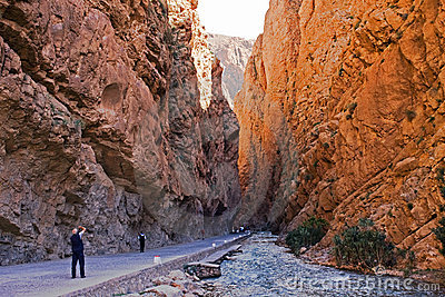 Morocco, Gorges.