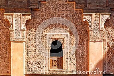 Morocco, Marrakech: Ben Youssef madrasa