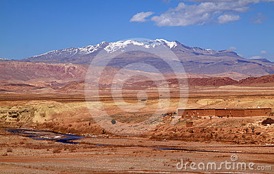 Morocco Ouarzazate river valley