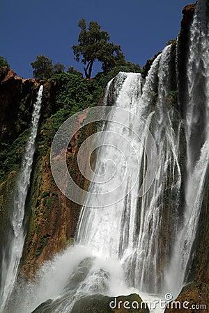 Morocco Ouzoud Waterfall