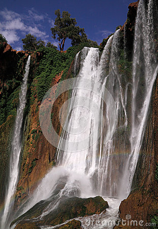 Free Morocco Ouzoud Waterfall Stock Photography - 25330492