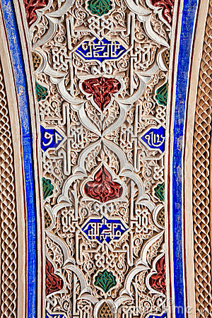 Morocco stoneworkstuckatur