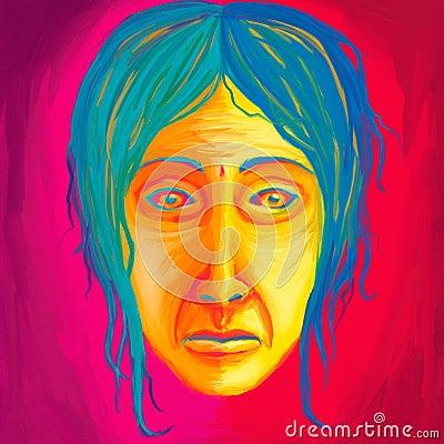 Morose Face Painting
