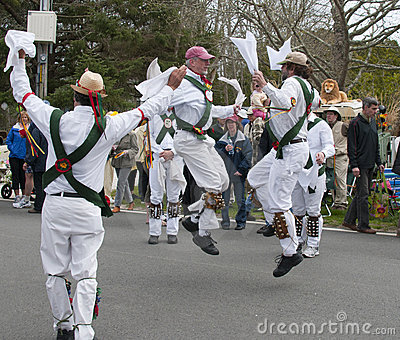 Morris Dancers Editorial Photo