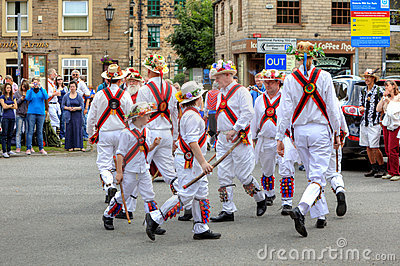 Morris Dancers Editorial Stock Photo