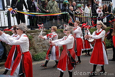 Morris dancers, Hastings Editorial Image