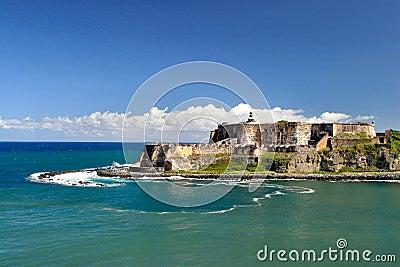 Morro παλαιό Πουέρτο Ρίκο SAN Juan οχ&