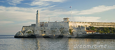 Morro castle in Havana harbor