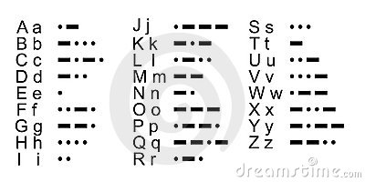 how to write a sentence in morse code