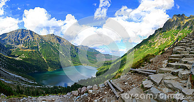 Morskie Oko Lake In Polish Tatra Mountains Royalty Free Stock Photo - Image: 26512985