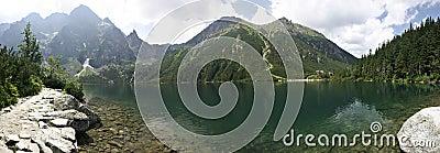 Morskie Oko mountain lake