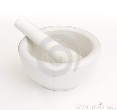 Free Mortar And Pestle Mortar And Pestle Stock Photo - 50439850