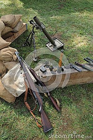 Mortar of the second world war