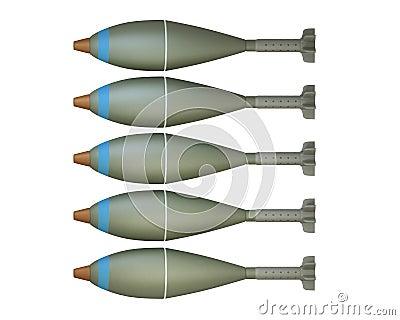 Mortar shells