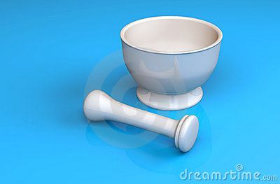 MortarPestle Royalty Free Stock Image - Image: 18570176
