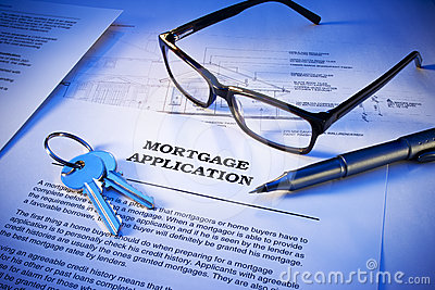 Mortgage Application Keys Business