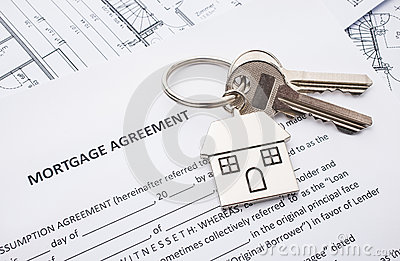 Mortgage loan agreement application