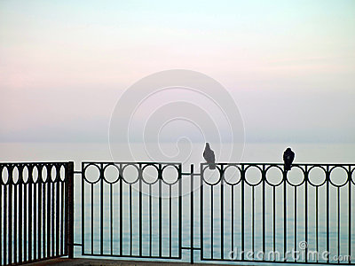 Morze krajobraz