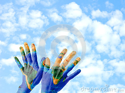 Mãos da terra