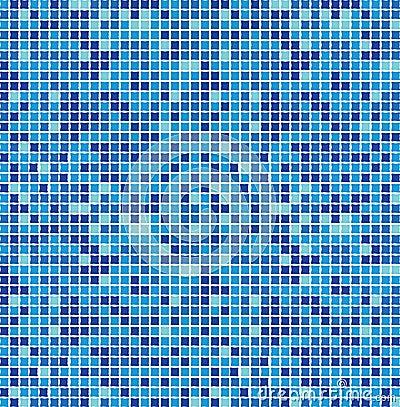 mosa que bleue sans joint photographie stock libre de. Black Bedroom Furniture Sets. Home Design Ideas