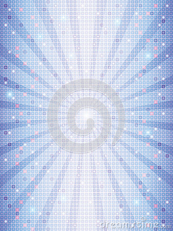 Mosaic background with rays