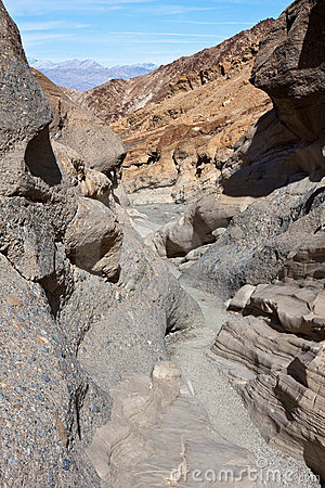 Mosaic Canyon Narrows