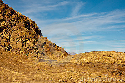 Mosaic Canyon Rocks in Death Valley