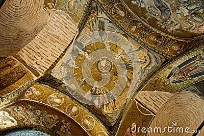Mosaic in Chora Church