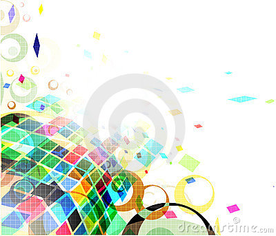 Mosaic colorful background