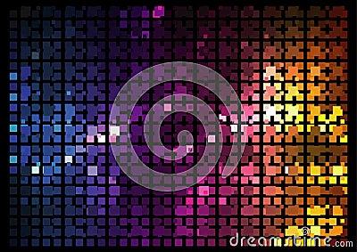 Mosaic - Disco effect